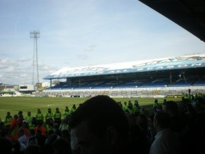 Ninian Park, Cardiff's old ground, where players such as Nathan Blake, Danny Gabbidon and Aaron Ramsey made their names.